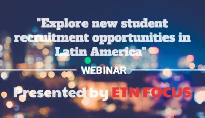 Explore new student recruitment opportunities webinar