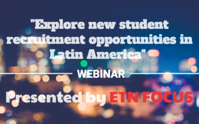 Explore new student recruitment opportunities webinar