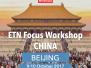 ETN Focus Workshop Beijing, China 2017